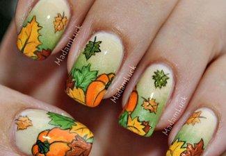 Осенний маникюр: актуальные цвета - фото 16