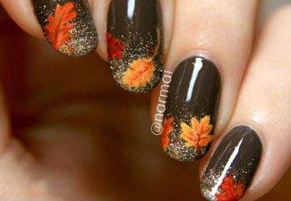 Осенний маникюр: актуальные цвета - фото 26