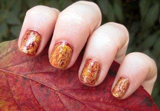Осенний маникюр: актуальные цвета - фото 28
