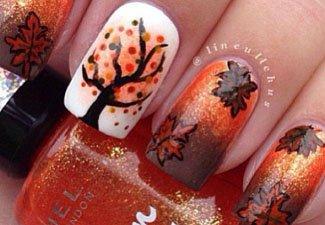Осенний маникюр: актуальные цвета - фото 31