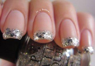 Новинки дизайна ногтей со стразами - фото 21