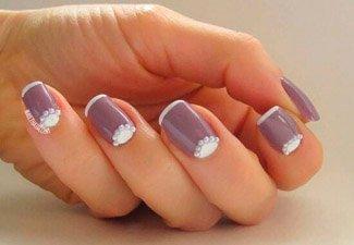 Новинки дизайна ногтей со стразами - фото 31