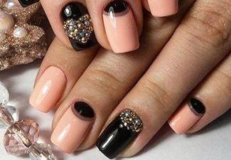 Новинки дизайна ногтей со стразами - фото 9